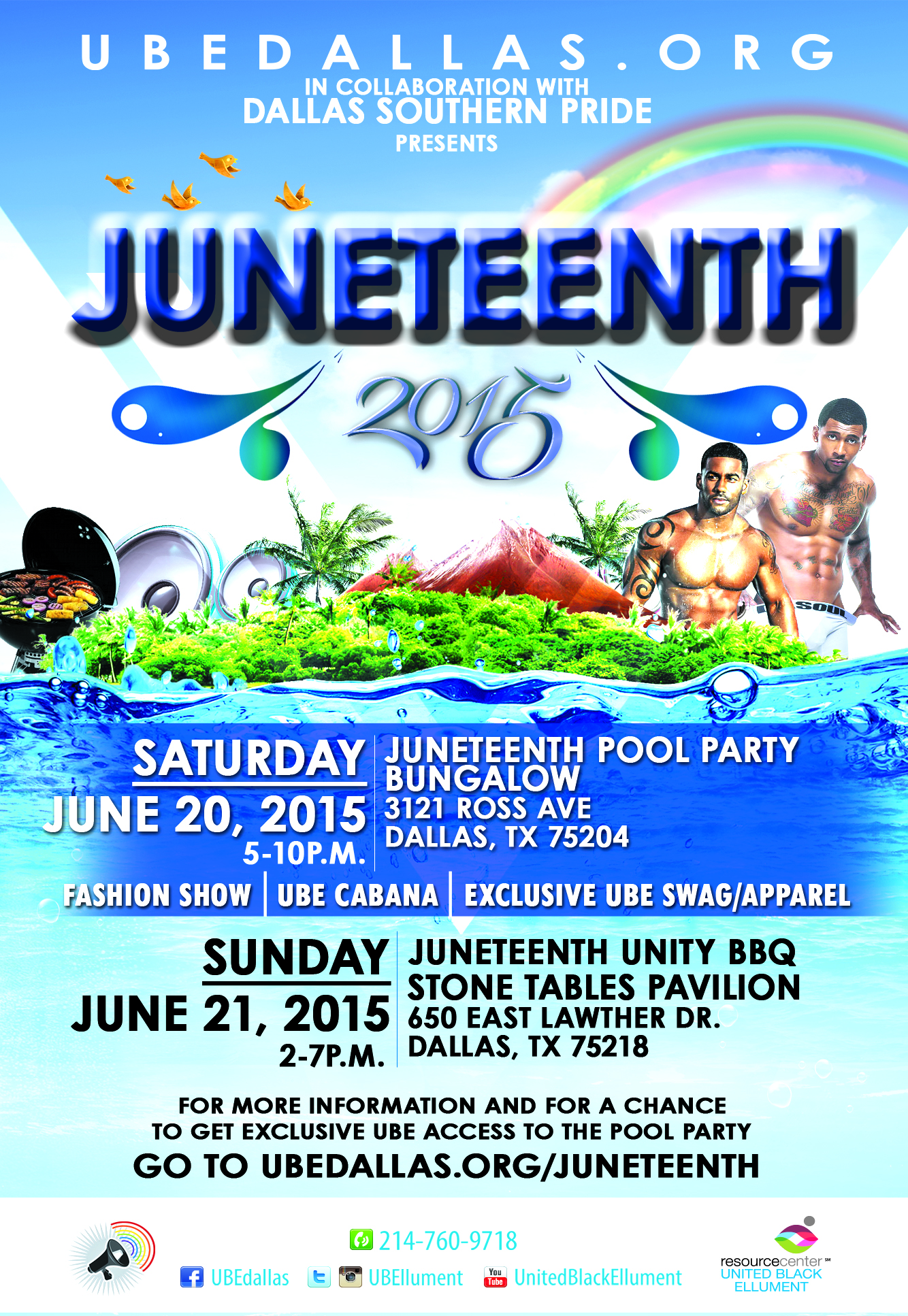 JUNETEENTH POOL PARTY