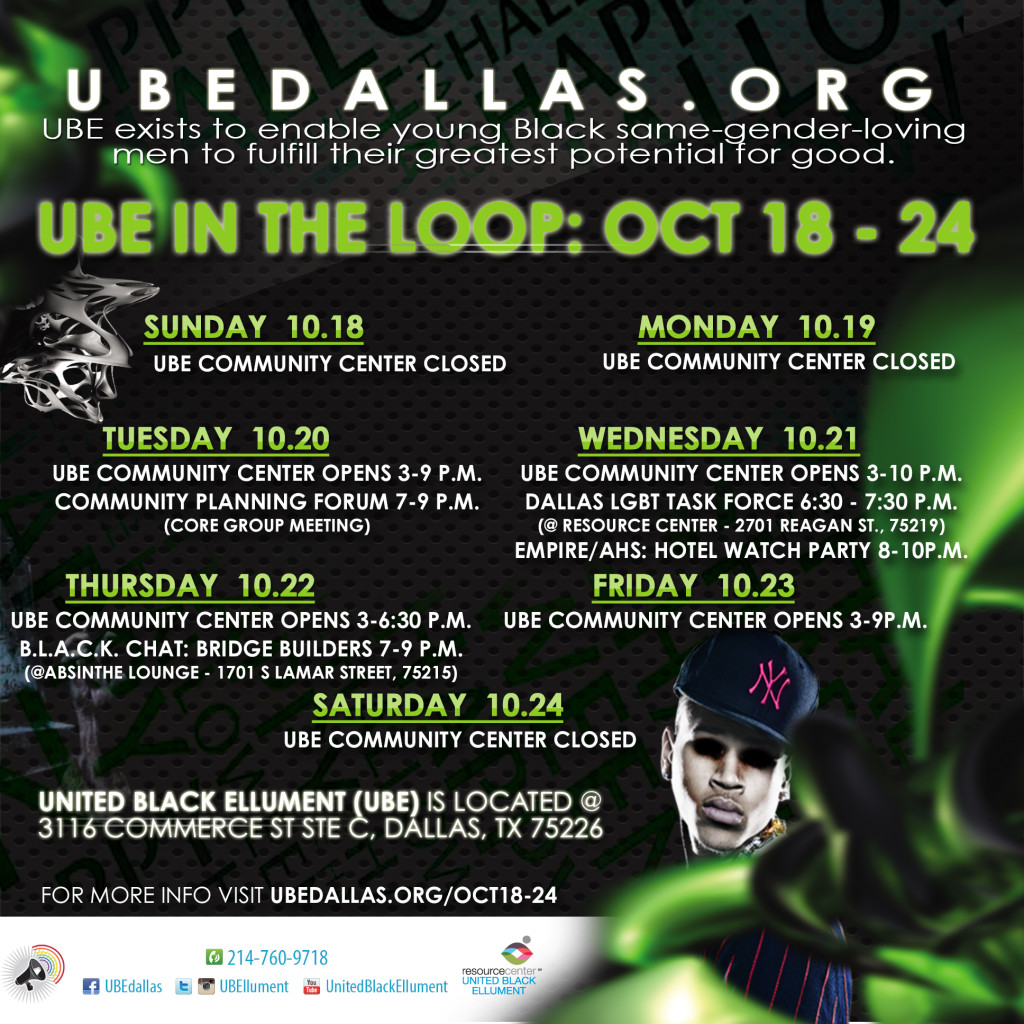 UBE in the Loop- Oct18-24