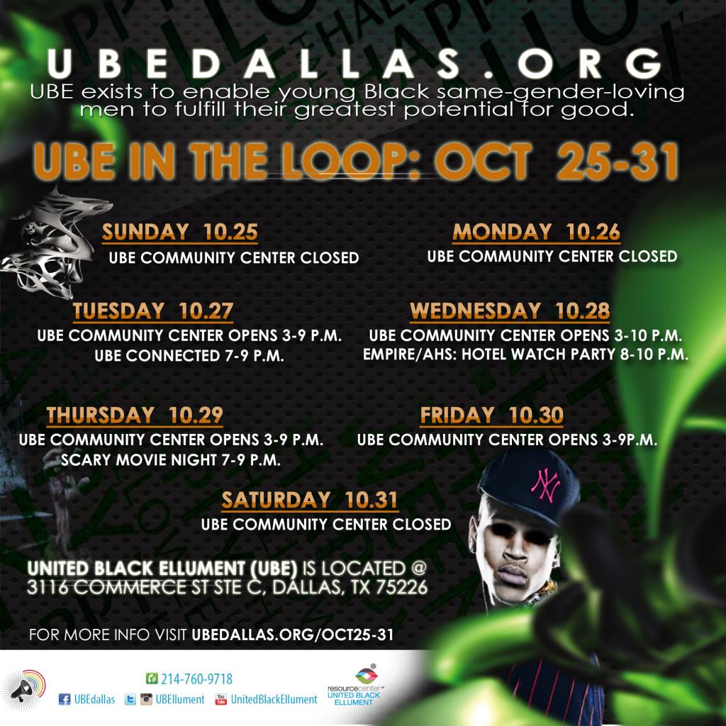 UBE in the Loop- Oct25-31