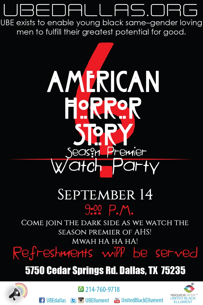 AHS WATCH PARTY SEASON PRE