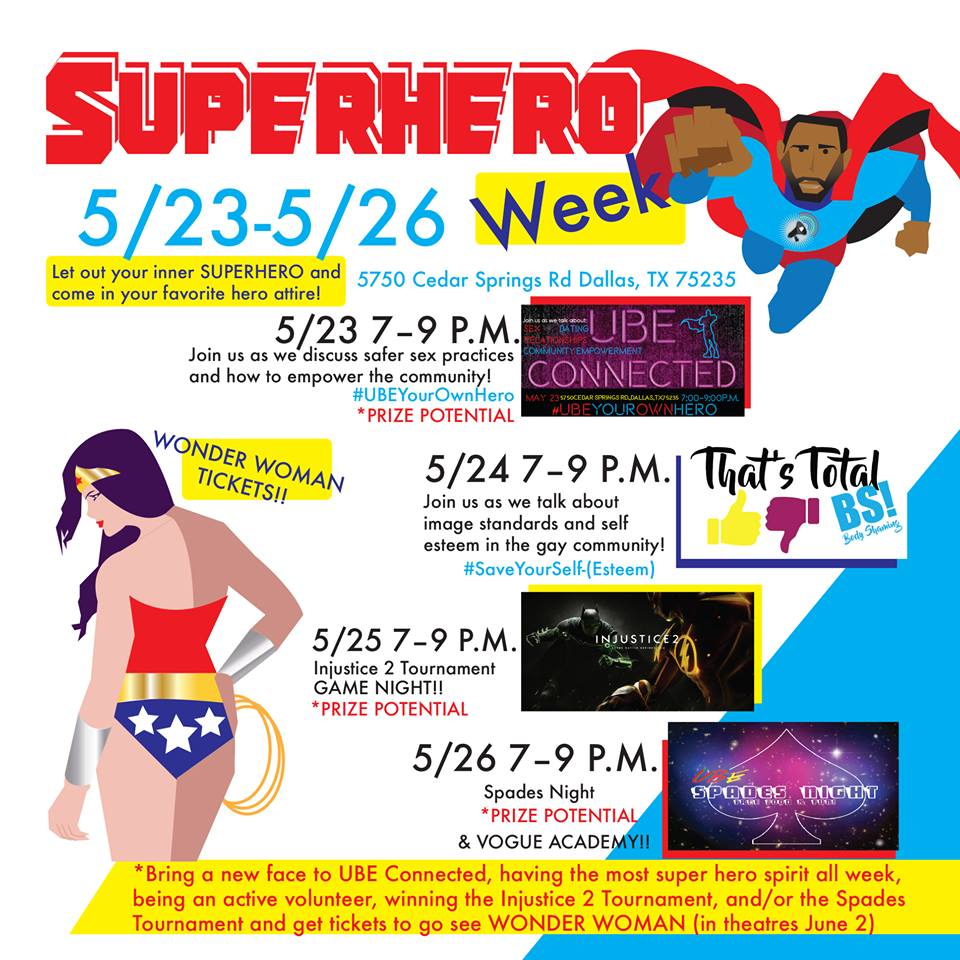 SuperHeroWeekAtUBE