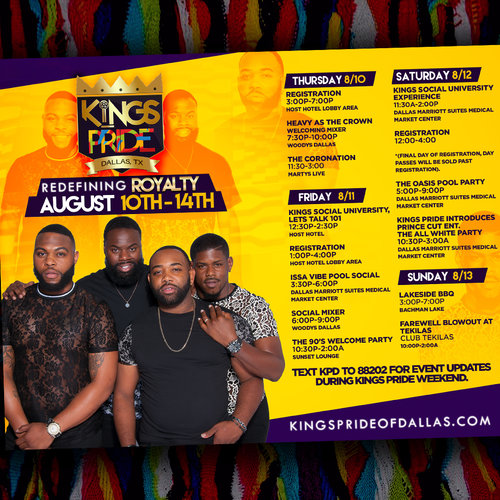 King's+Pride+Weekend+Events+Social+Media+Flyer